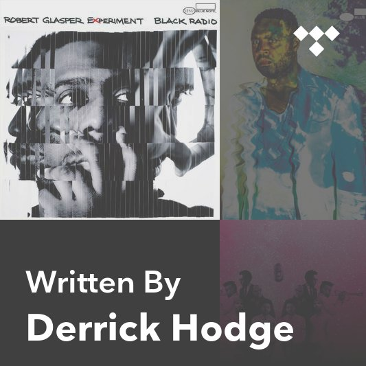 Songwriter Mix: Derrick Hodge