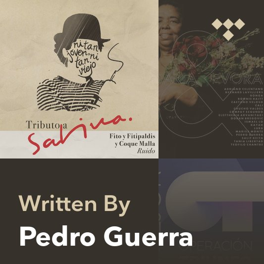Songwriter Mix: Pedro Guerra