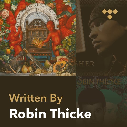 Songwriter Mix: Robin Thicke