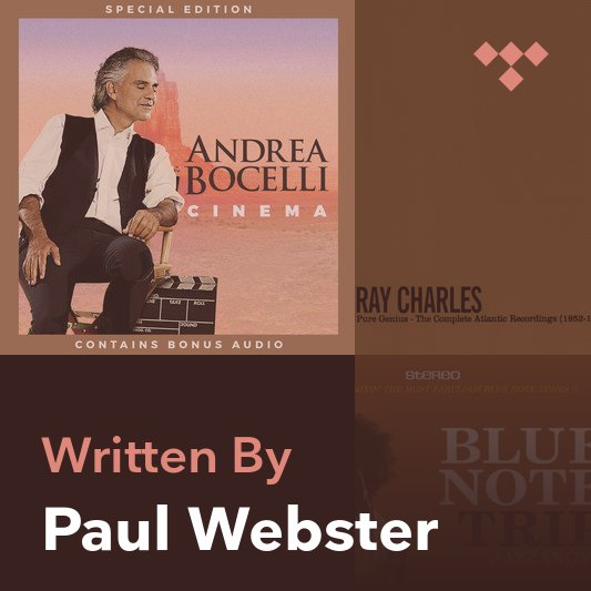 Songwriter Mix: Paul Webster