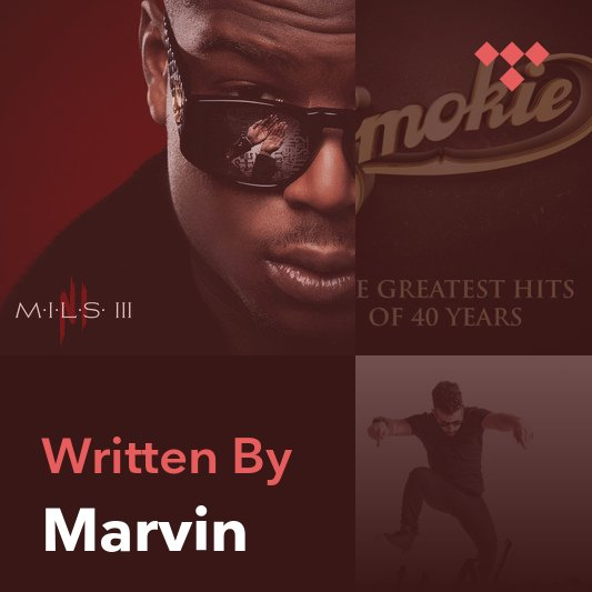 Songwriter Mix: Marvin