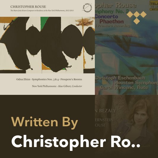 Songwriter Mix: Christopher Rouse