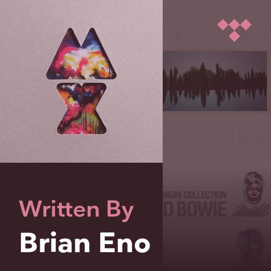 Songwriter Mix: Brian Eno