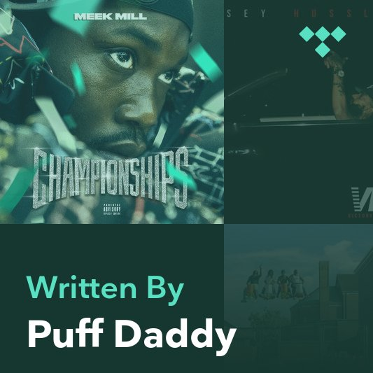 Songwriter Mix: Puff Daddy