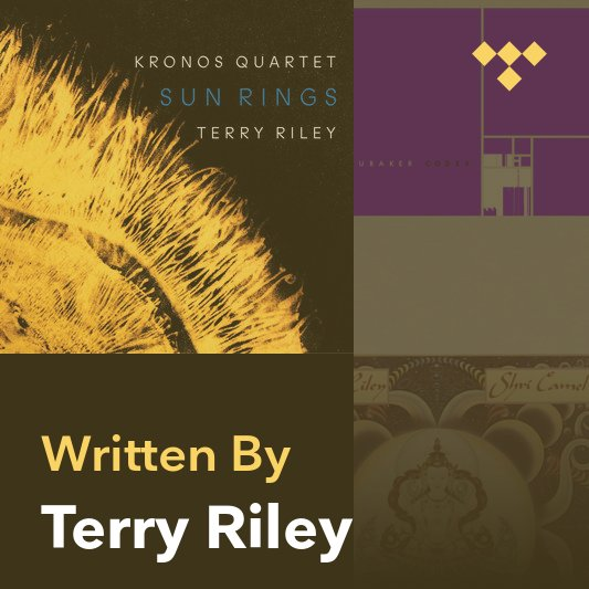 Songwriter Mix: Terry Riley