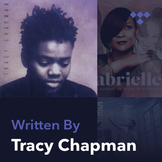 Songwriter Mix: Tracy Chapman