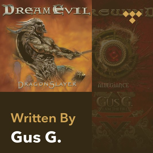 Songwriter Mix: Gus G.