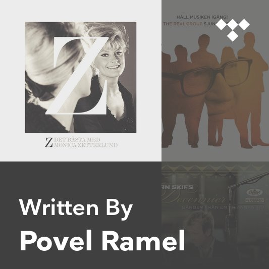 Songwriter Mix: Povel Ramel