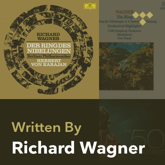 Songwriter Mix: Richard Wagner