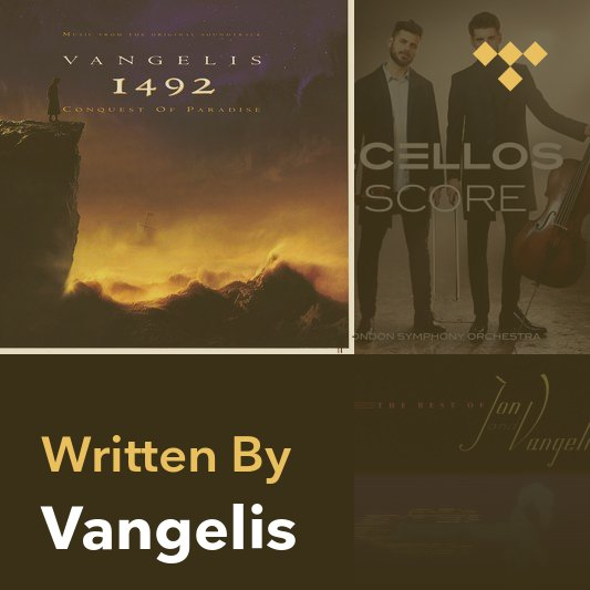 Songwriter Mix: Vangelis