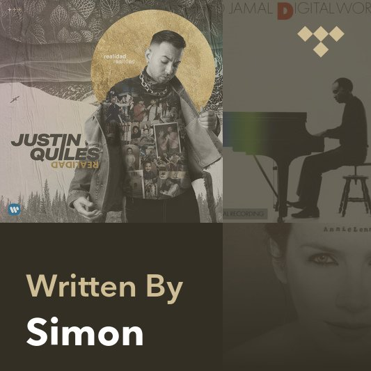 Songwriter Mix: Simon