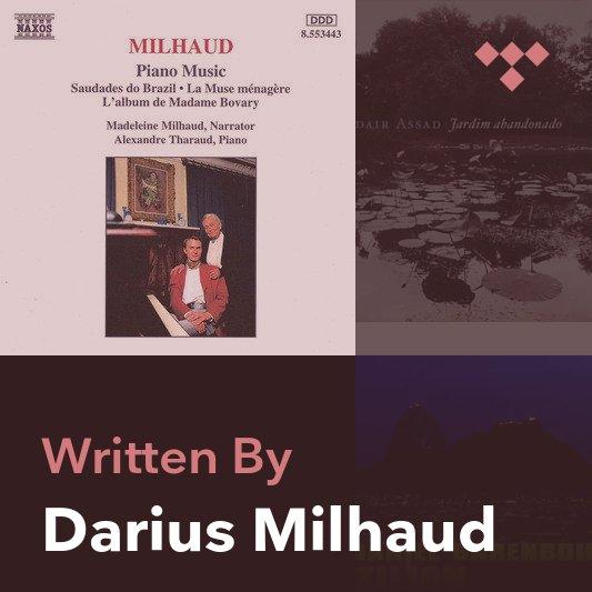 Songwriter Mix: Darius Milhaud