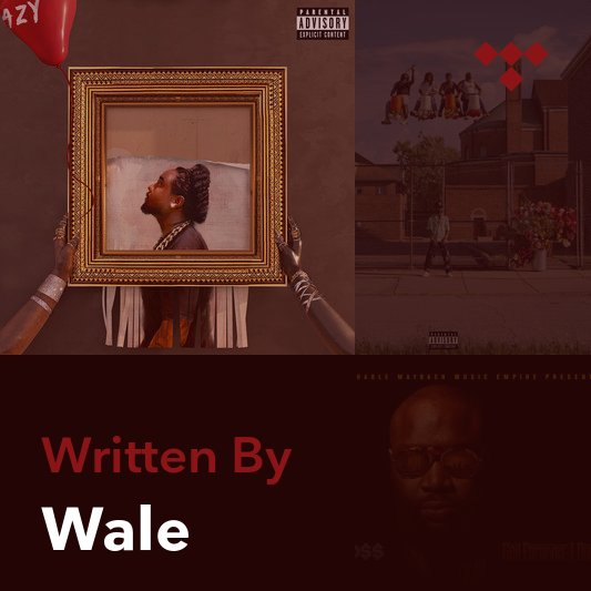 Songwriter Mix: Wale