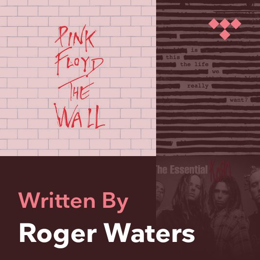 Songwriter Mix: Roger Waters