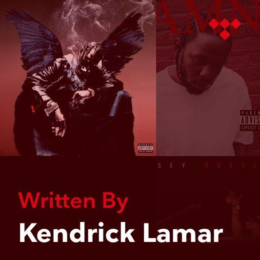 Songwriter Mix: Kendrick Lamar