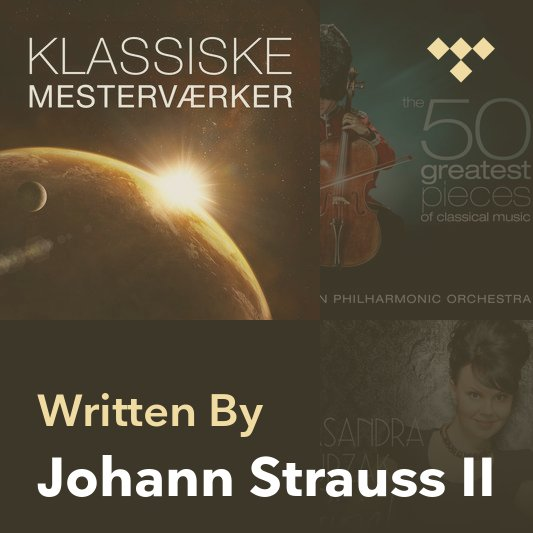 Songwriter Mix: Johann Strauss II