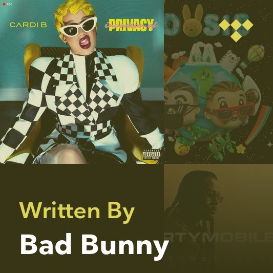 Songwriter Mix: Bad Bunny