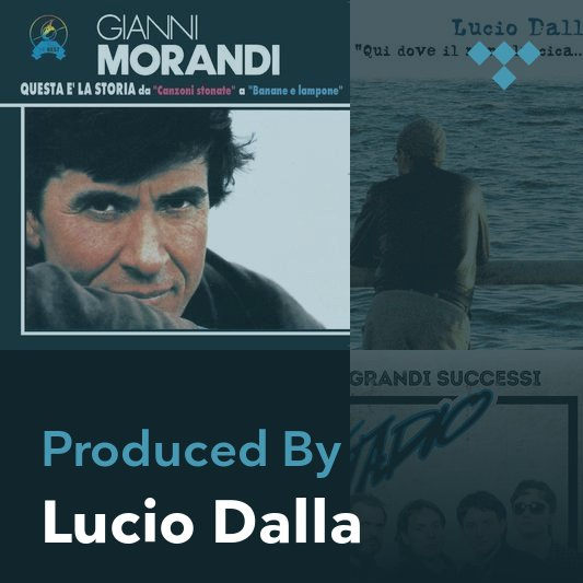 Producer Mix: Lucio Dalla