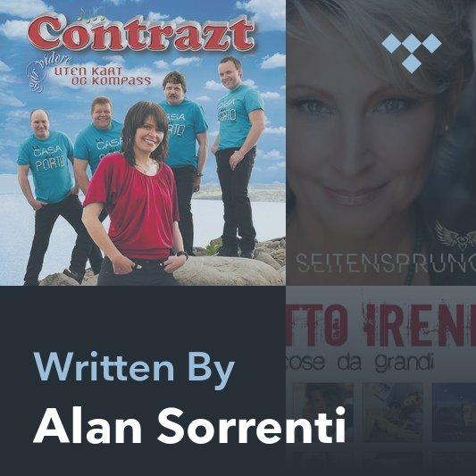 Songwriter Mix: Alan Sorrenti