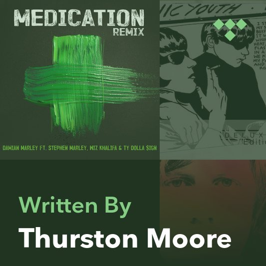 Songwriter Mix: Thurston Moore