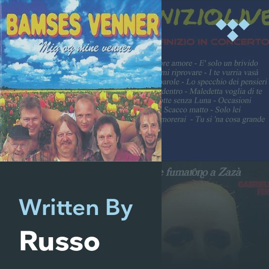 Songwriter Mix: Russo