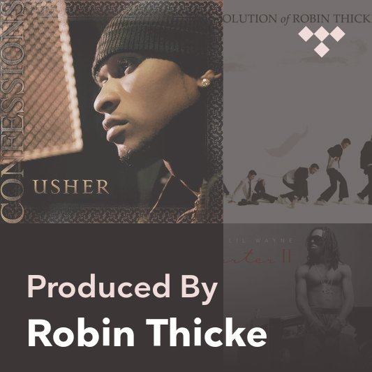 Producer Mix: Robin Thicke