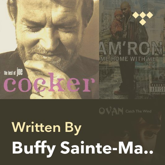 Songwriter Mix: Buffy Sainte-Marie