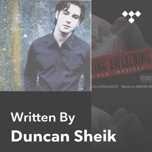 Songwriter Mix: Duncan Sheik
