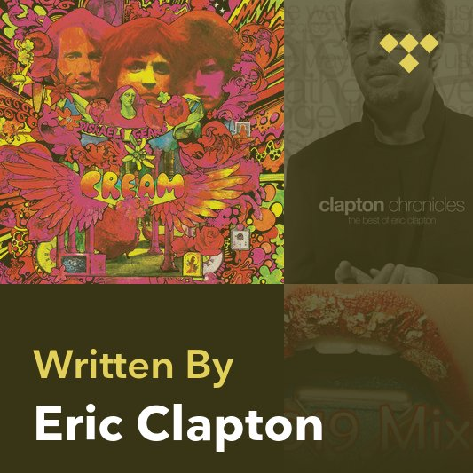 Songwriter Mix: Eric Clapton