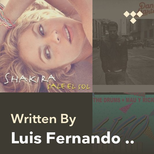 Songwriter Mix: Luis Fernando Ochoa