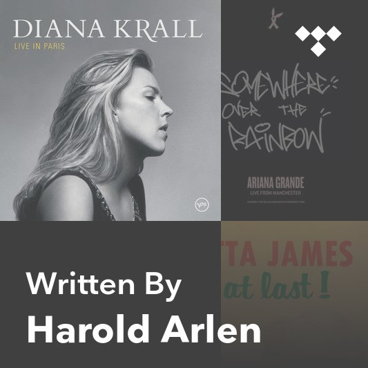 Songwriter Mix: Harold Arlen