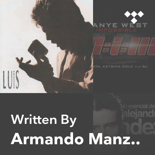 Songwriter Mix: Armando Manzanero