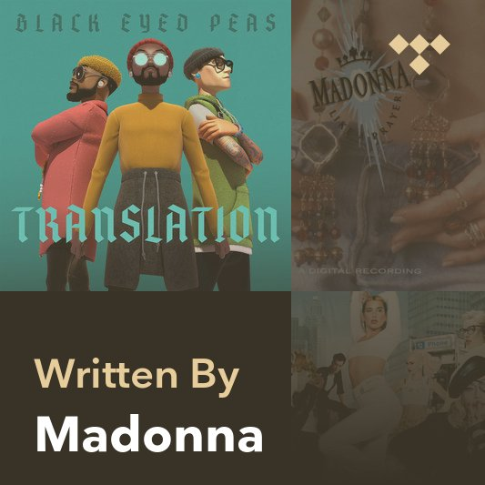 Songwriter Mix: Madonna