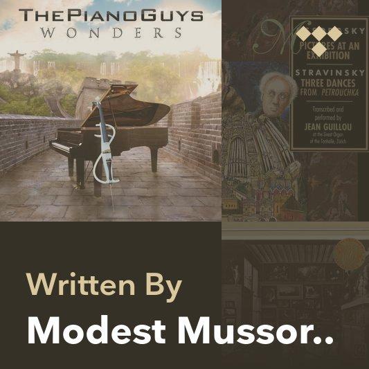 Songwriter Mix: Modest Mussorgsky