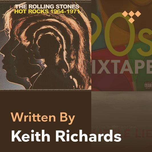 Songwriter Mix: Keith Richards