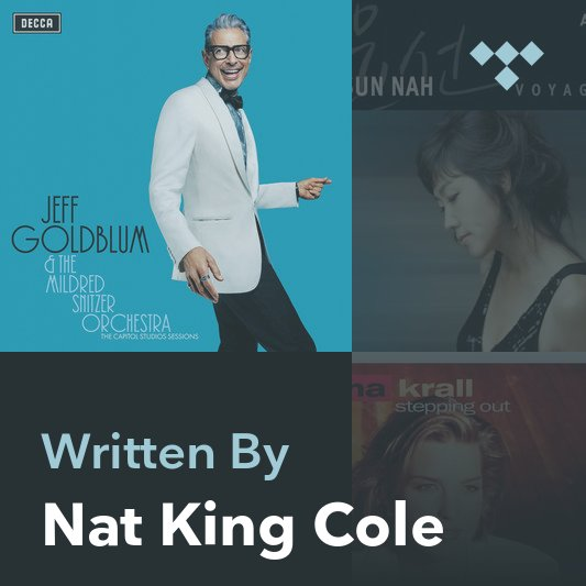 Songwriter Mix: Nat King Cole
