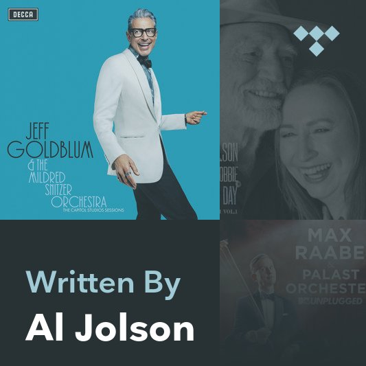 Songwriter Mix: Al Jolson