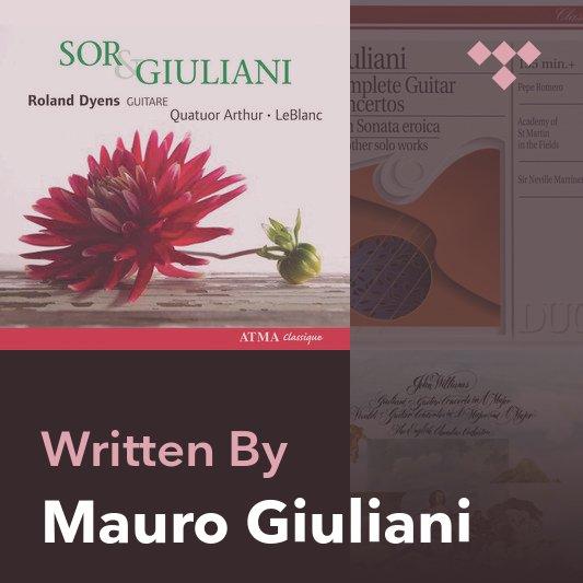 Songwriter Mix: Mauro Giuliani