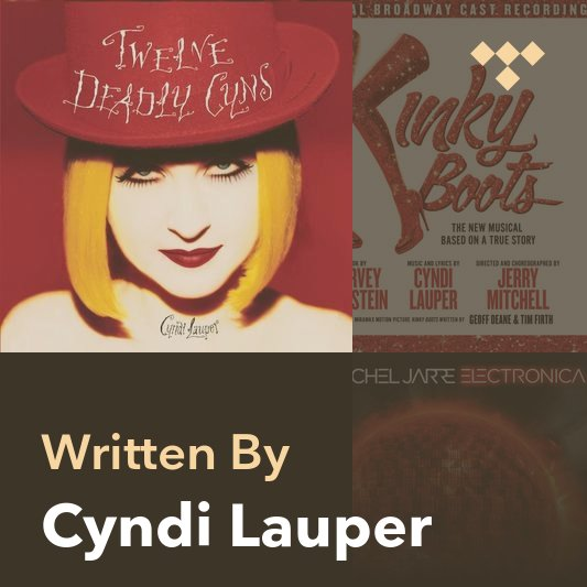 Songwriter Mix: Cyndi Lauper