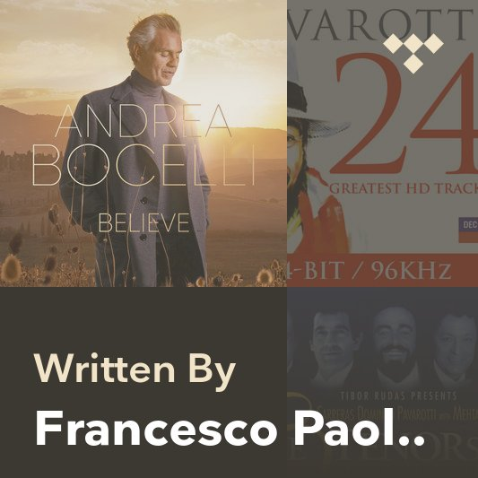 Songwriter Mix: Francesco Paolo Tosti
