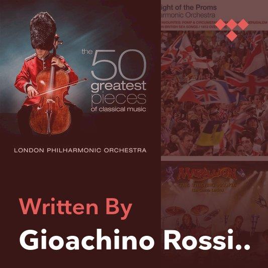Songwriter Mix: Gioachino Rossini