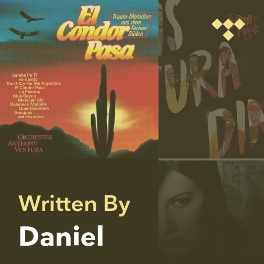 Songwriter Mix: Daniel