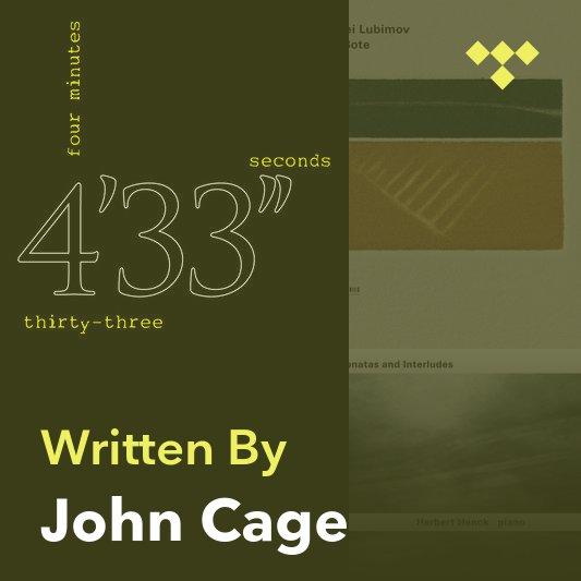 Songwriter Mix: John Cage