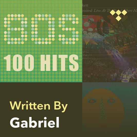 Songwriter Mix: Gabriel