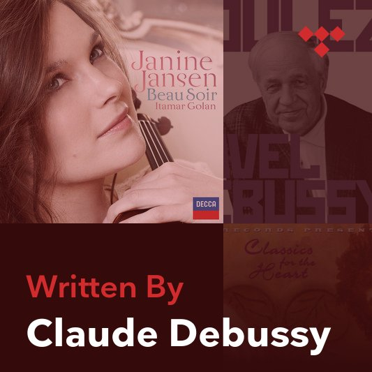 Songwriter Mix: Claude Debussy