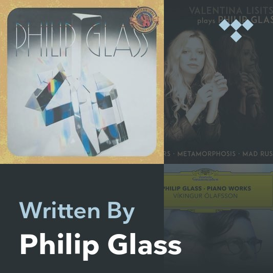 Songwriter Mix: Philip Glass