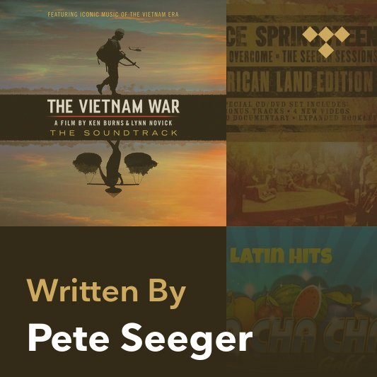 Songwriter Mix: Pete Seeger