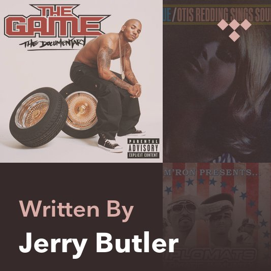Songwriter Mix: Jerry Butler