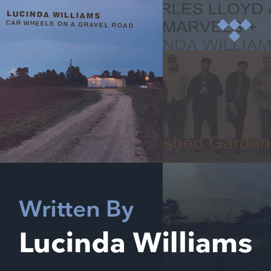 Songwriter Mix: Lucinda Williams
