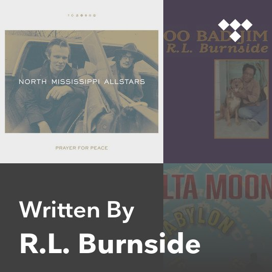 Songwriter Mix: R.L. Burnside